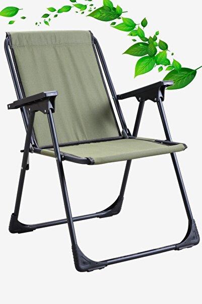 Yekta Home Star Katlanır Koltuk Piknik Plaj Sandalyesi Kamp Sandalyesi Yeşil