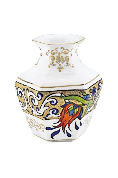 Kütahya Porselen El Yapımı Vazo Dekor No: 1353824