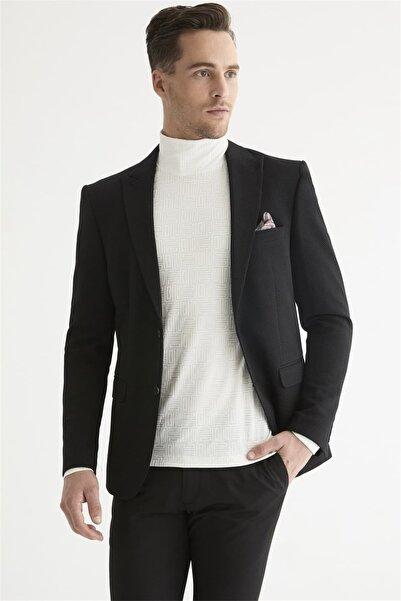 Efor C 577 Slim Fit Siyah Spor Ceket