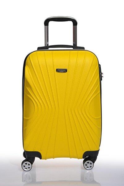 Fossil Fsy1113-s Sarı Unısex Kabin Boy Valiz