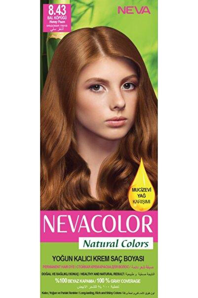 Neva Color Saç Boyası Seti 8.43 Bal Köpüğü 8698636612418