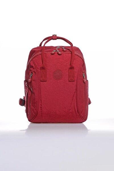 SMART BAGS Smb1220-0021 Bordo Kadın Sırt Çantası