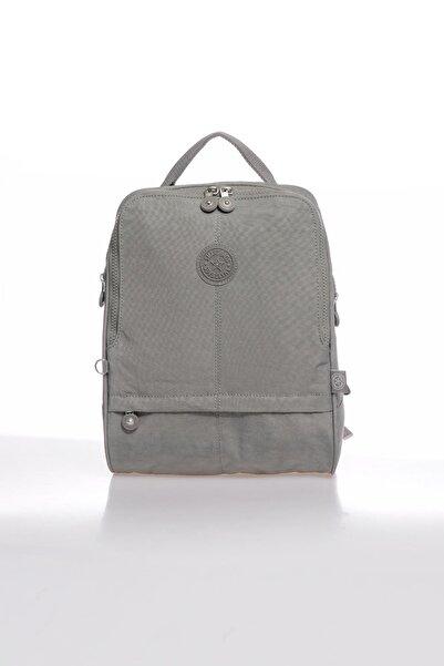 SMART BAGS Smbky1117-0078 Gri Kadın Sırt Çantası