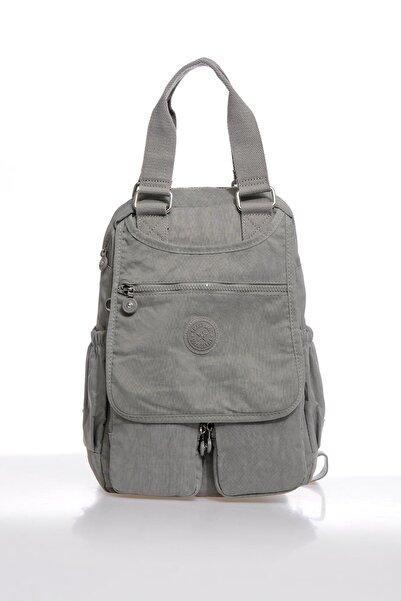 SMART BAGS Smbky1174-0078 Gri Kadın Sırt Çantası