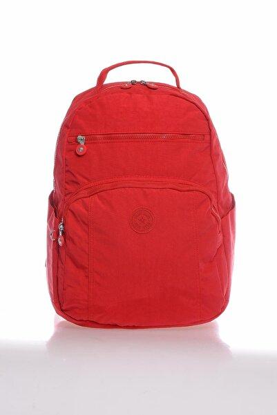 SMART BAGS Smb3067-0019 Kırmızı Kadın Sırt Çantası
