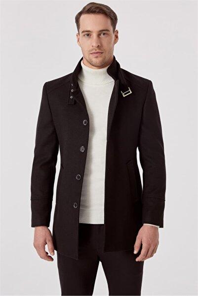 Efor Plt 069 Siyah Klasik Palto