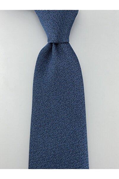PİERRONİ Özel Düz Melanj Desen Mendilli Kravat