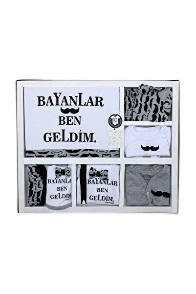 Miniworld Bayanlar Ben Geldim 10 Lu Yenidoğan Erkek  Bebek Hastane Çıkışı Seti K543