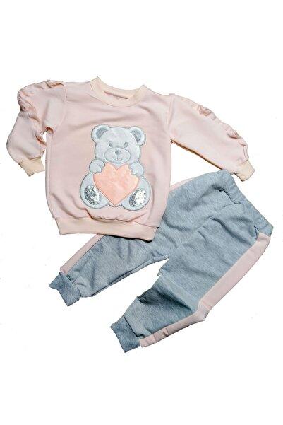 Baby Doss Panda Ayrıntılı Kız Çocuk Kıyafeti