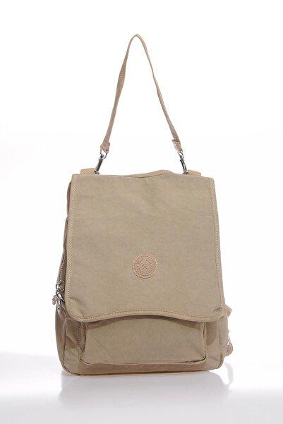 SMART BAGS Smbky1119-0015 Vizon Kadın Sırt Çantası