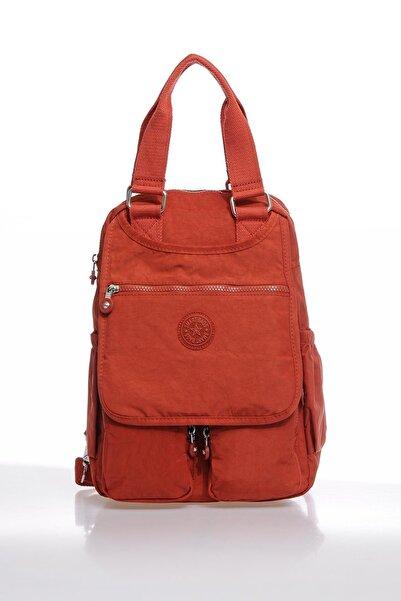 SMART BAGS Kadın Kiremit Sırt Çantası Smbky1174-0128