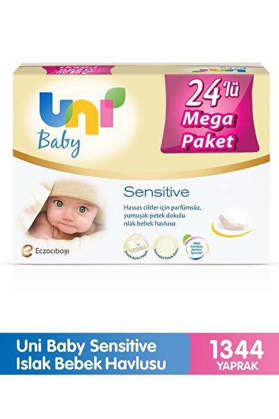 Uni Baby Sensitive Islak Havlu 24'lü 1344 Yaprak