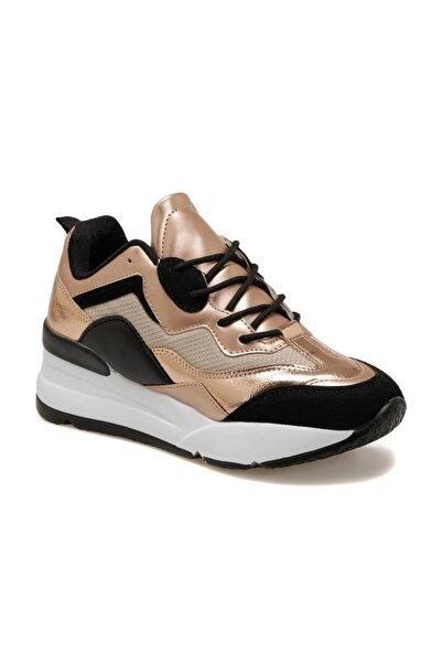 Butigo 20k-007 Pudra Kadın Kalın Taban Sneaker Spor Ayakkabı