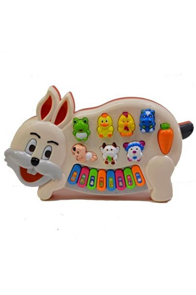 Can Toys Türkçe Hayvan Sesli Tavşan Piyano