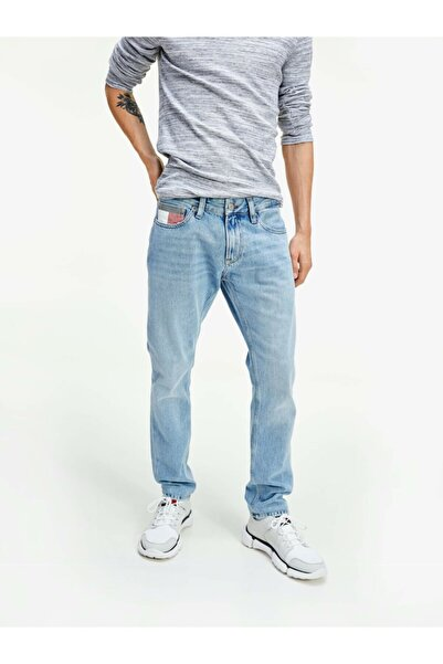 Tommy Hilfiger Erkek Th Tommy Logolu Scanton Heritage Denim Pantolon
