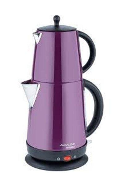 AWOX Demplus Çelik Çaycı Çay Makinesi-lila
