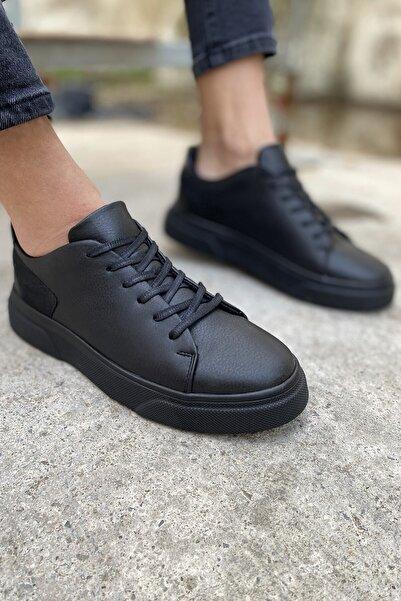 Arlin Erkek Ipek Siyah Spor Ayakkabı