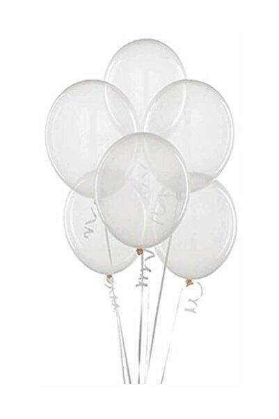 Kullan At Market Baskısız Şeffaf Balon 10lu