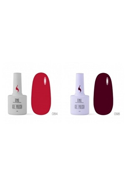 tnl professional Tnl Pro 30 Gün Kalıcı Oje Kırmızı Bordo Renk Seti 2li