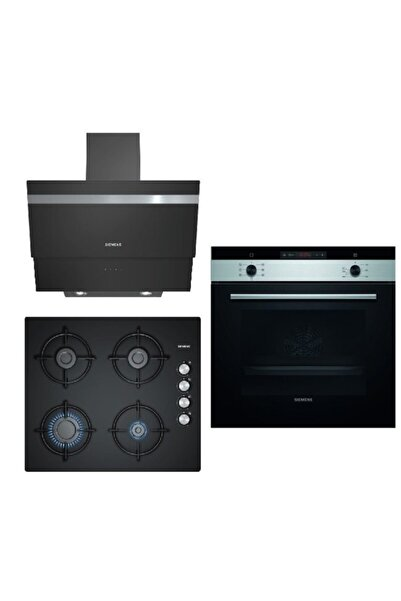 Siemens Ankastre Set 98 (Hb013fbs1t +eo6c6pb11o + Lc65ka670t )