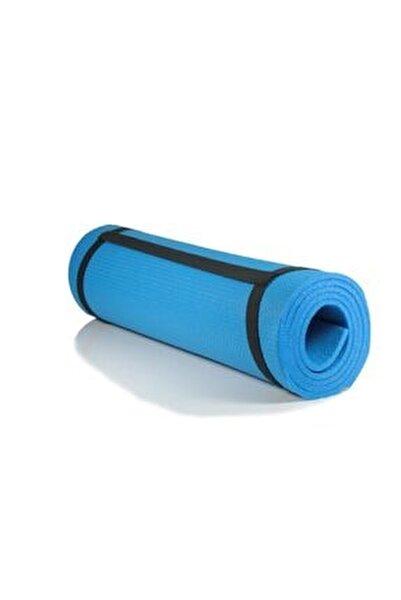 7 Mm Kalınlık Pilates Matı Yoga Matı Kamp Matı Mavi Boy 150 Cm En 51 Cm