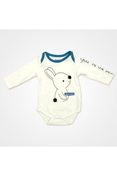 Miniworld Take It Easy Tavşanlı Badili Bebek Takımı 3 Parça - Ekru