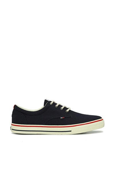 Tommy Hilfiger Erkek Gri Sneaker EM0EM00001