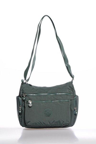SMART BAGS Smbky1115-0005 Haki Kadın Çapraz Çanta