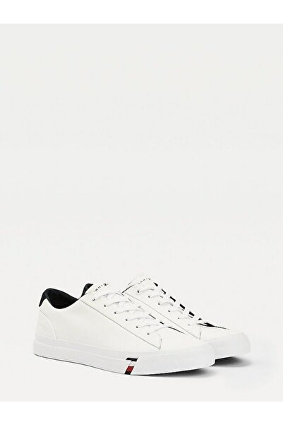 Tommy Hilfiger Corporate Deri Sneaker