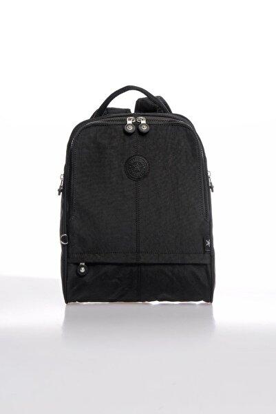 SMART BAGS Smb1117-0001 Siyah Kadın Sırt Çantası