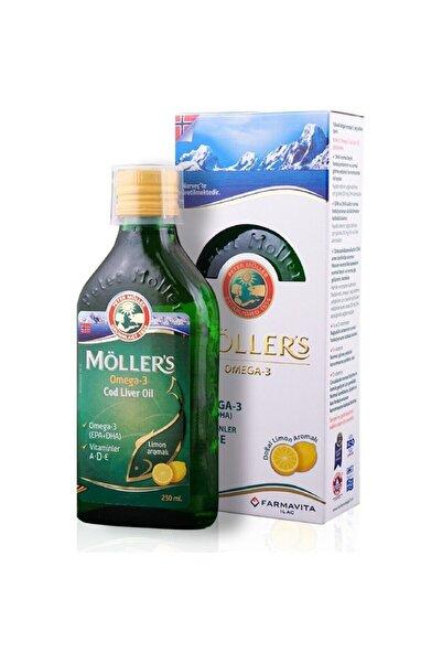 Mollers Möller's Omega 3 Balık Yağı 250 ml Limon Aromalı