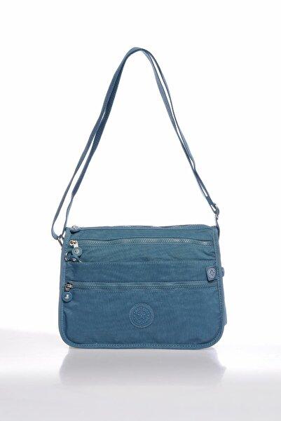 SMART BAGS Smbky1128-y. Buz Mavi Buz Mavi Kadın Çapraz Çanta