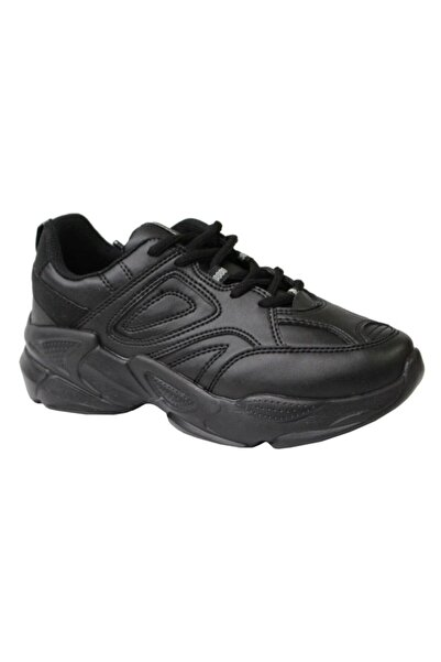Kinetix Ivor W Siyah Anatomik (36-40) Bayan Spor Ayakkabı