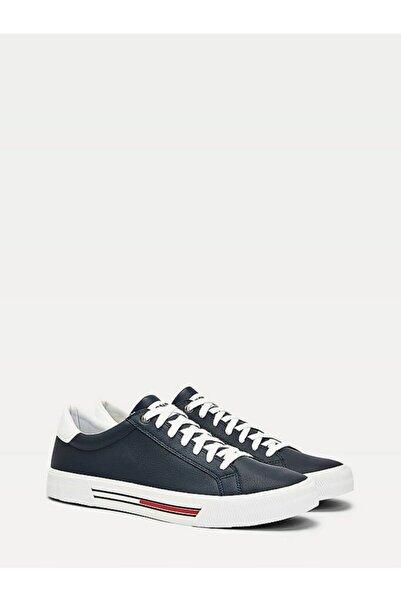 Tommy Hilfiger Erkek Th Essential Deri Sneaker