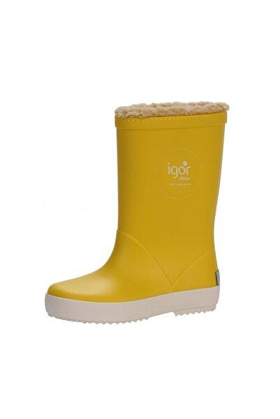 IGOR Splash Nautico Borreg. Yağmur Çiz. W10207-ıgr007 Sarı 23-32 Içi Miflonlu