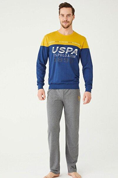 U.S POLO U.s. Polo Assn. Erkek Pijama Takımı 18384