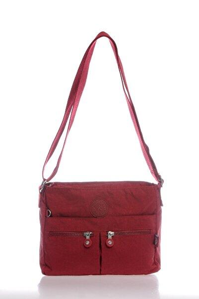 SMART BAGS Smb3055-0021 Bordo Kadın Çapraz Çanta