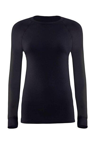 Blackspade Kadın Siyah 2. Seviye Termal T-shirt 9259