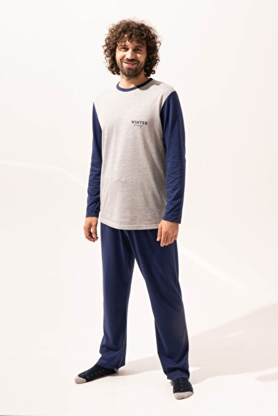 Katia&Bony Cool Erkek Pijama Takımı - Lacivert