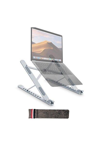 Roxaly Yeni Nesil Taşınabilir Laptop Macbook Ve Tablet Standı - Alüminyum - 17''e Kadar Uyumluluk