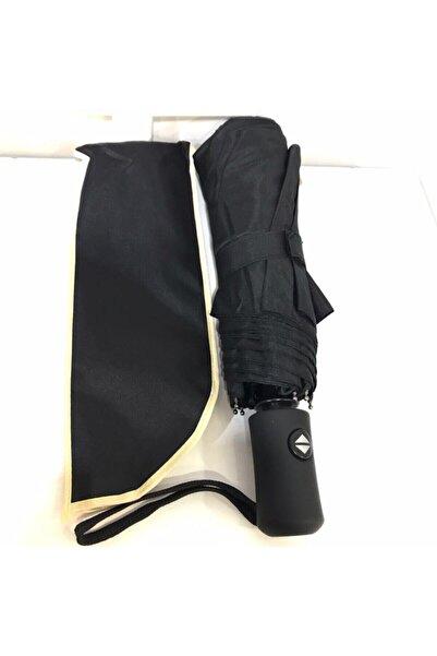 Umbrella Şemsiye Siyah Ful Otomatik Rüzgarda Esneyebilen Mekanizma