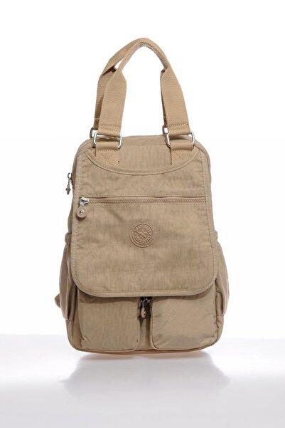 SMART BAGS Smbky1174-0015 Vizon Kadın Sırt Çantası