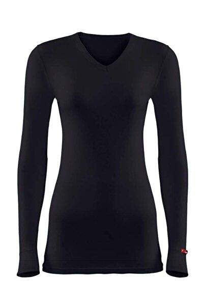 Blackspade Kadın Siyah 2. Seviye Termal T-shirt 1257