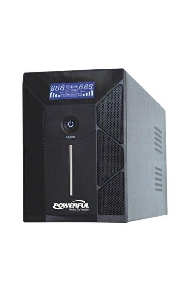 Powerful Pld-3000 3000va Ups Lcd Panel Lıne Interactıve Kesintisiz Güç Kaynağı Gamıng Ups