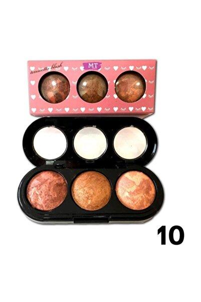 Makeuptime 3 Lü Terracotta Allık