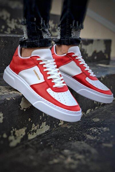 Chekich Ch087 Bt Erkek Ayakkabı Kırmızı / Beyaz