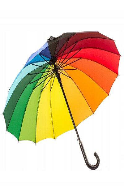Oranj Life Uzun Rainbow Şemsiye (Gökkuşağı)
