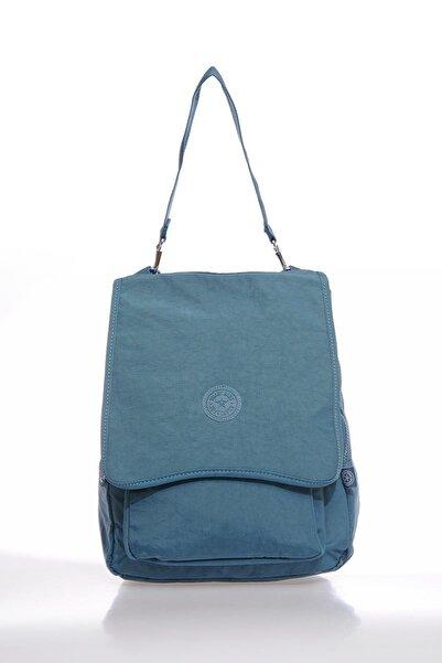 SMART BAGS Smbky1119-y. Buz Mavi Buz Mavi Kadın Sırt Çantası