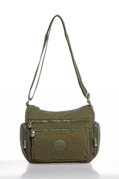 SMART BAGS Smbky1115-0029 Koyu Yeşil Kadın Çapraz Çanta