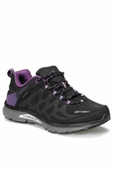 lumberjack Siyah Mor Kadın Outdoor Ayakkabı